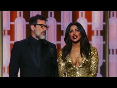 Priyanka Chopra at the Golden Globes 2017