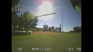 Happy model Mantis 85 delivers my best fpv flight to date unbiased unsponsored unscripted review
