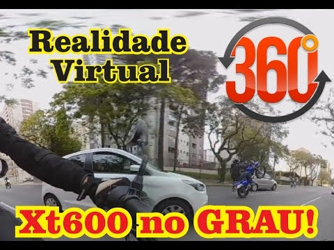 Canal do Coruja - vídeo 360 Grau Xt600 - Realidade Virtual - Motovlog Comic