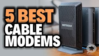 5 Best CABLE MODEMS for 2020