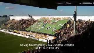 preview picture of video 'SpVgg Unterhaching - SG Dynamo Dresden - 08.11.14'