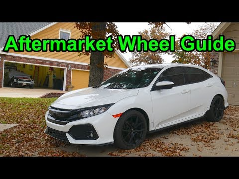 Aftermarket Wheels, Lug Nut Pattern,  Wheel Offset | 10th Gen Honda Civic