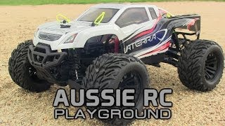 Vaterra Halix 1/10 Scale 4WD Monster Truck First run on 2S