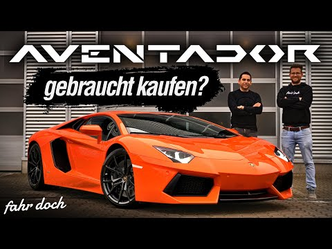 Lamborghini Aventador LP700-4 Gebrauchtwagencheck mit Omid | Fahr doch