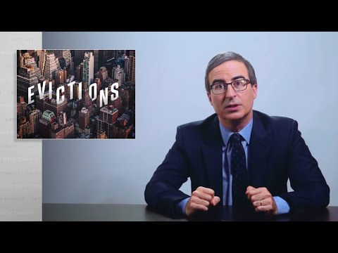 Coronavirus IX: Evictions: Last Week Tonight with John Oliver (HBO)