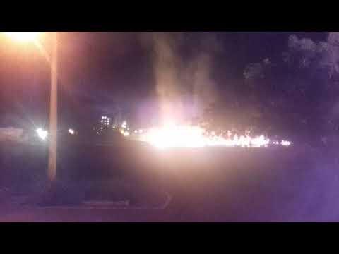 Explosão de caminhao de combustível em Araporã minas gerais  BR 153 sentido Itumbiara Goiás