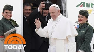 Pope Francis Travels To Egypt Amid Security Fears | TODAY