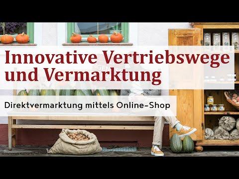 Direktvermarktung mittels Online-Shop