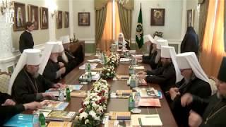 Патриарх Кирилл открыл первое в истории заседание Священного Синода в Екатеринбурге
