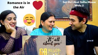 Akki, Mom and Sister Reaction - Its All About You | Sidhu Moose Wala | Intense | 2020