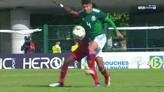 Torneo Esperanzas De Toulon 2018: Qatar 1-4 Mexico