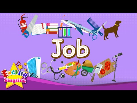 Kids vocabulary - Job - Let's learn jobs - Learn English for kids - English educational video