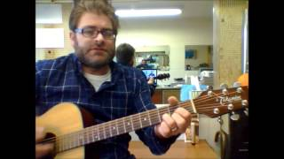 "How to play ""Queen Of Hearts"" by Juice Newton on acoustic guitar"