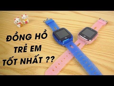 Review Wonlex KT01 - Đồng hồ định vị trẻ em tốt nhất hiện nay ?