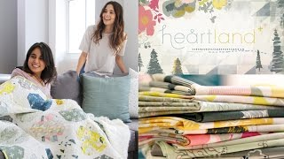 AGF fabric collection: Heartland by Pat Bravo