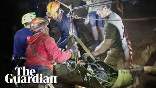 How the Thai cave rescue unfolded
