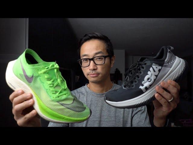 Best Marathon Race Shoe - Next % vs. Carbon X (vs. Adios 4 vs. Pegasus)