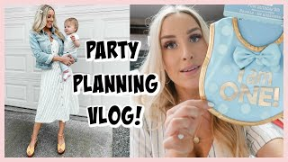 MOTHER'S DAY & FIRST BIRTHDAY PARTY PLANNING VLOG | OLIVIA ZAPO