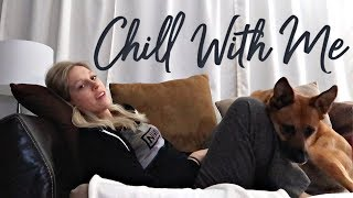 A Chill Night in My Life | Night Shift Nursing & Couch Surfing | Alyssa All Day