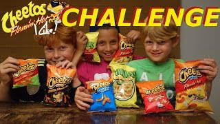 Flamin' Hot Cheetos Challenge: Messy Monday Madness