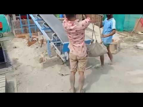 Foam Concrete Brick Machine