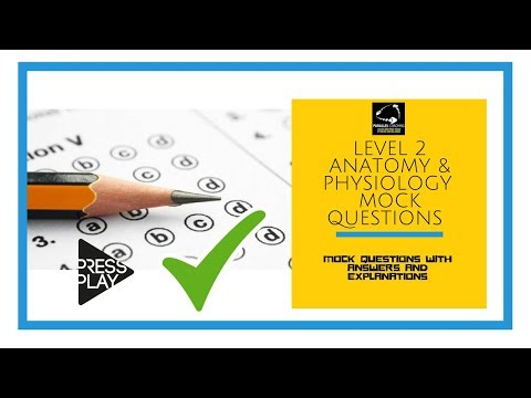 Level 2 Anatomy and Physiology Mock Questions - YouTube