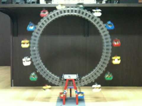LEGO electric Ferris wheel