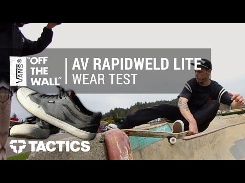 Vans AV Rapidweld Pro Lite Skate Shoes Wear Test Review - Tactics.com