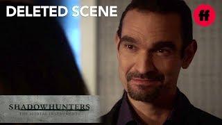 Shadowhunters Season 3, Episode 9 | Deleted Scene: Izzy Flirts With Lorenzo | Freeform