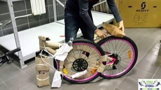 Видео: Упаковка велосипеда для отправки в другие города