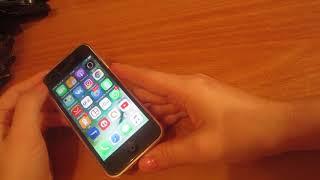 Отзыв об Айфон 5С с AliExpress