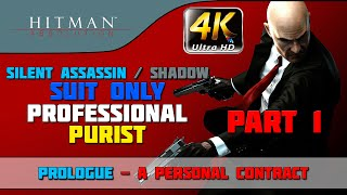Hitman: Absolution   Walkthrough   ShadowSuit OnlyNo KnockoutEvidencePurist   Part 1 Prologue