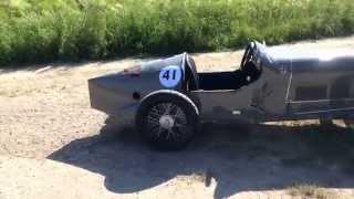 """Bentley4 1/2 Liter Style """"Old Number one"""" 3m lang 6,5PS 200ccm 4Takt www.seifenkistenrenner.de"""