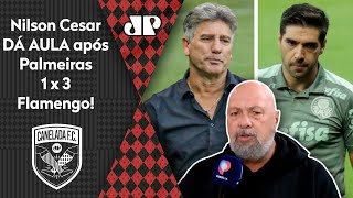 """""""O Renato Gaúcho pôs o Abel Ferreira no bolso!"""" Nilson Cesar dá aula após Palmeiras x Flamengo!"""