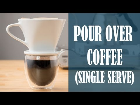 How to make Single Serve Pour Over Coffee
