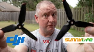 DJI FPV Aftermarket Propellers vs Original DJI FPV Propellers - Can You Tell The Difference?