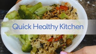Quick & Easy Pressure Cooker Recipe: Wild Rice & Veggies, Healthy Meal, How to Use Simfonio SimPot!