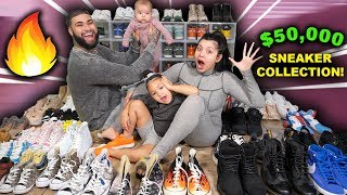 THE BANKS FAMILY SNEAKER COLLECTION!!!