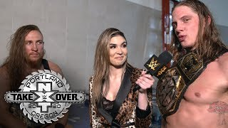 The BroserWeights celebrate their titles and friendship: NXT Exclusive, Feb. 16, 2020