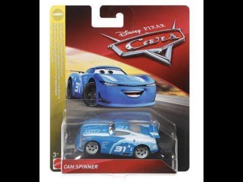 Cam Spinner And More New Disney Cars 2019 DIecasts!