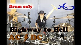[New]AC/DC - Highway to Hell Drum Only (cover by Ami Kim) {39th-2}