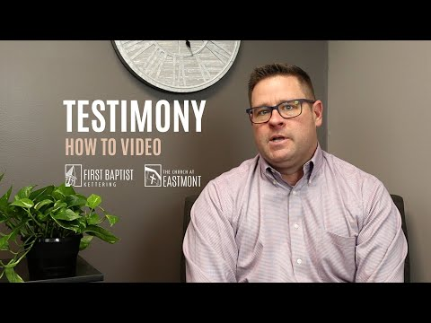 Download #TransformedByJesus | Testimony Tips and Example Mp4 HD Video and MP3