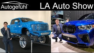 LA Auto Show Highlights Tour 2019 reviews for new cars in 2020 - Autogefühl