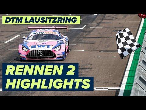 DTM ラウジッツリンク(ドイツ) RENNEN2のハイライト動画