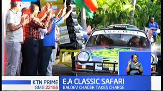 Kenyan Baldev Chager takes charge of Day-1 of E.A Classic Safari Rally