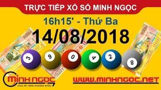 Xổ số Minh Ngọc™ Thứ Ba 14/08/2018 - Kênh chính thức từ Minhngoc.net.vn