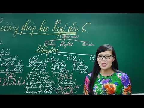 Ngữ Văn Lớp 6 –Bài giảng Phương pháp học Ngữ Văn 6