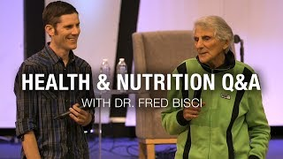 Health & Nutrition Q&A with Dr. Fred Bisci // Sonrise Christian Center // 9-4-19