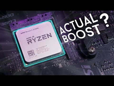 R7 2700X - Boost Performance Analysis