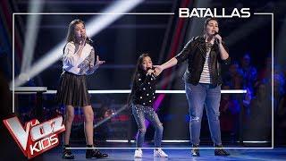 Esperanza, Patricia and Manuela - Mientes | Battles | The Voice Kids Antena 3 2019